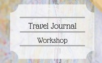 Запрашаем на Travel Journal Workshop